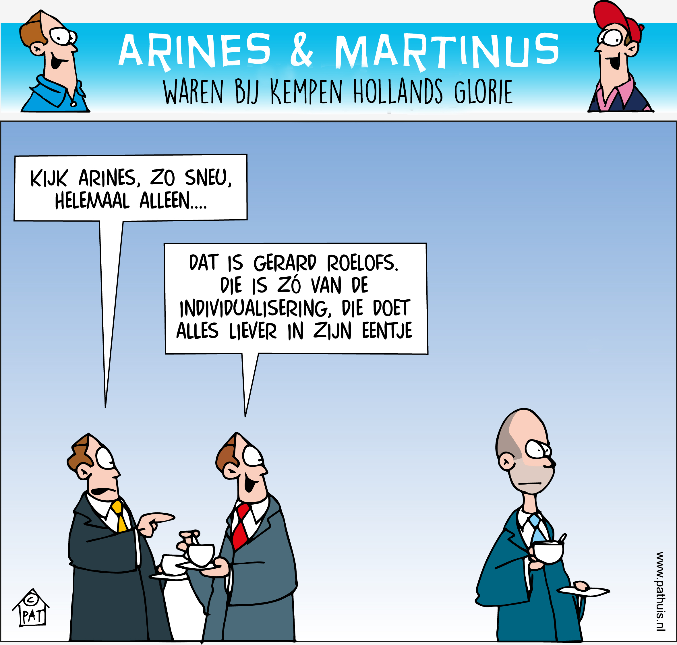 Hollands Glorie cartoon